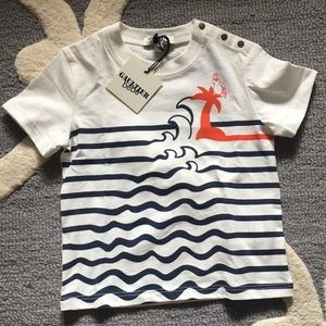 Jean Paul Gaultier toddler tee NWT